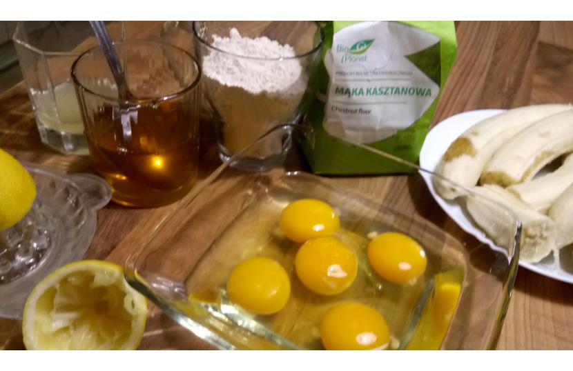 Zdrowe słodkości z mąki kasztanowej